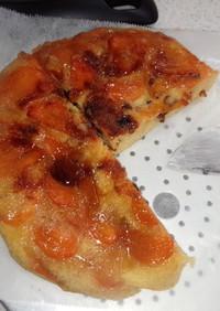 柿のタルトタタン風ケーキ