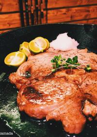 三崎マグロのテールステーキ