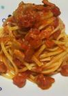 【男の料理】キノコとツナのトマトパスタ