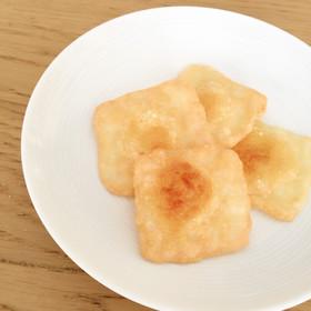 簡単おやつ♡チーズせんべい(トースター)