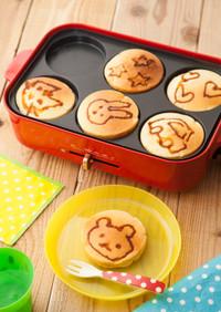 味噌と豆乳のお絵かきパンケーキ