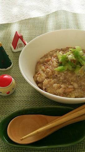 ダイエット☆長芋薬膳粥