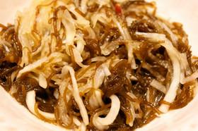 もずくと大根の中華風サラダ
