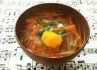 簡単♡具沢山せん切り野菜汁(о´∀`о)