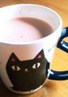コレステロール対策、ホットココア豆乳