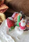 お菓子の家をレアチーズケーキにリメイク