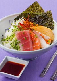フェトッパプ 韓国風刺身丼