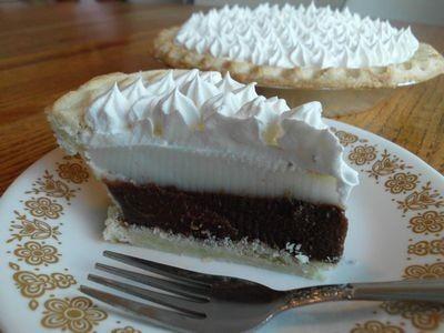 ハワイのデザート☆チョコレートハウピアパイ