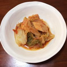 白菜と高野豆腐のトマト煮