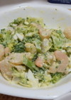 超簡単☆エビとブロッコリーの卵サラダ☆