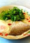 パクチー・香菜入り鯛素麺・簡単1人昼飯⑤