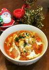 鶏と大根で☆濃厚トマトスープ