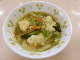 肉だんごスープ ★宇都宮学校給食