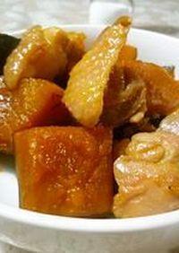 ★鶏肉とかぼちゃの旨煮★