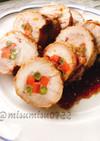 【作り置き】鶏もも肉の人参インゲン巻き