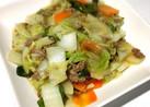 和風八宝菜★超簡単!うどんのスープで味付