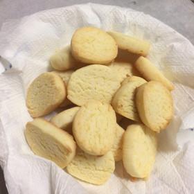 シンプル☆簡単サクサク米粉クッキー