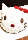 ムースケーキ(キティちゃん)