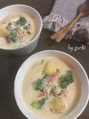 ごろごろ野菜のクリームシチュー♪の写真