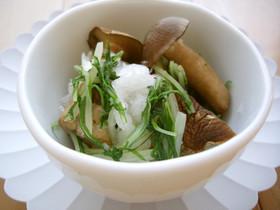 【京都丹波】シメジとみず菜のおろし和え
