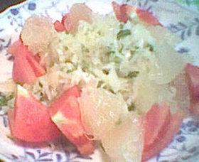 キャベツのイタリアンサラダ