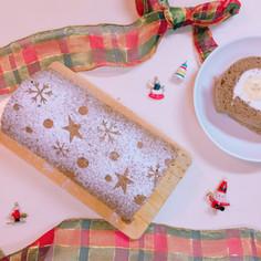 バナナチョコロールケーキ*クリスマス仕様