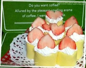 簡単♥ろうそくロールケーキクリスマスにも
