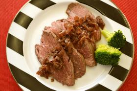 クリスマスに☆炊飯器で簡単ローストビーフ