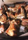 簡単♡スペアリブのバジルオーブン焼き