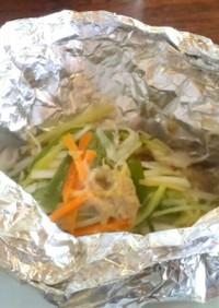 鯖の味噌マヨネーズ焼き
