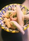 ちくわと白菜のりんごサラダ