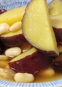 サツマイモ・ナツメ・豆のシャトルシェフ煮
