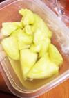 ズボラ☆熟れ熟れメロンの果汁ラッシー☆