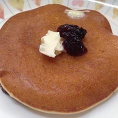 米粉と甘酒で作るふわふわパンケーキ