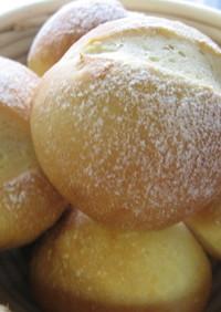 一晩かけてじっくり醗酵パン*丸パン編