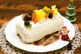 クリスマス★ビネガークリームロールケーキ