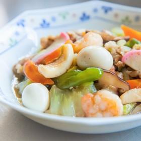 鶏味塩 de 八宝菜(五目うま煮)