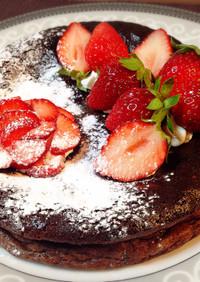 特別な日に♥️苺たっぷりガトーショコラ