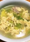 あっさりスープ♡レタスと卵のスープ