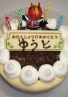 誕生日のアイスケーキ♪