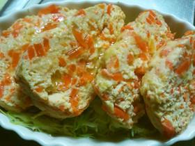【やわらか食】豆腐のミートローフ