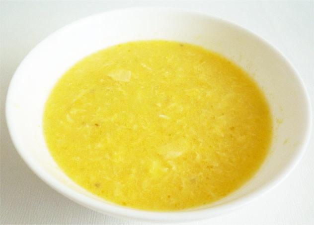中華風 コーンと玉子のスープ