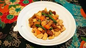 鶏とごぼうの煮物