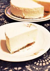 糖質制限◆簡単濃厚レアチーズケーキ