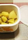 離乳食♡初期~後期 さつま芋のりんご煮