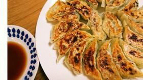 肉なし☆た~っぷりキャベツの野菜餃子