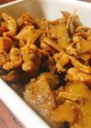 鶏肉とごぼうのしぐれ煮