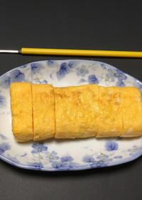 ガムシロで卵焼き