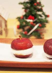 チョコマシュマロ焼きリンゴ