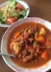 お野菜とお肉の*食べる*トマトスープ